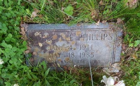 PHILLIPS, ETHEL LEE - Campbell County, Tennessee | ETHEL LEE PHILLIPS - Tennessee Gravestone Photos