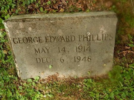 PHILLIPS, GEORGE EDWARD - Campbell County, Tennessee | GEORGE EDWARD PHILLIPS - Tennessee Gravestone Photos