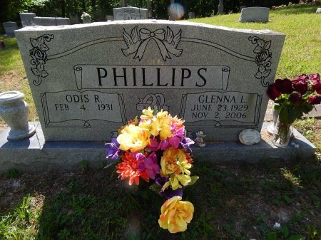 PHILLIPS, GLENNA L - Campbell County, Tennessee | GLENNA L PHILLIPS - Tennessee Gravestone Photos