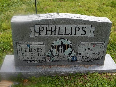 PHILLIPS, ORA - Campbell County, Tennessee | ORA PHILLIPS - Tennessee Gravestone Photos