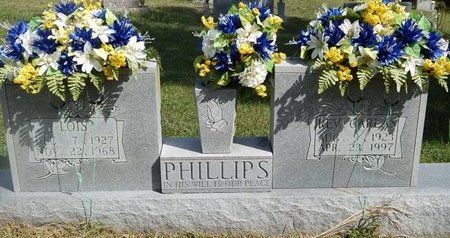 PHILLIPS, LOIS - Campbell County, Tennessee | LOIS PHILLIPS - Tennessee Gravestone Photos