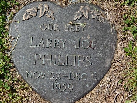 PHILLIPS, LARRY JOE - Campbell County, Tennessee | LARRY JOE PHILLIPS - Tennessee Gravestone Photos
