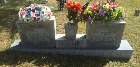 PHILLIPS, MARTHA M - Campbell County, Tennessee | MARTHA M PHILLIPS - Tennessee Gravestone Photos