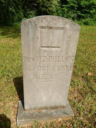 PHILLIPS, M D (REVEREND) - Campbell County, Tennessee | M D (REVEREND) PHILLIPS - Tennessee Gravestone Photos