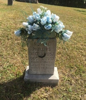 PHILLIPS, RONNIE - Campbell County, Tennessee | RONNIE PHILLIPS - Tennessee Gravestone Photos