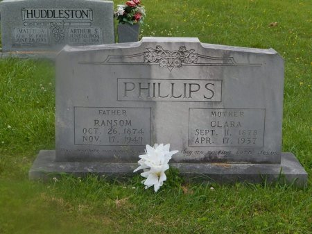 PHILLIPS, CLARA - Campbell County, Tennessee | CLARA PHILLIPS - Tennessee Gravestone Photos
