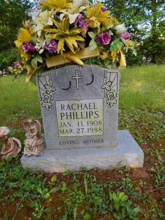 PHILLIPS, RACHAEL - Campbell County, Tennessee | RACHAEL PHILLIPS - Tennessee Gravestone Photos