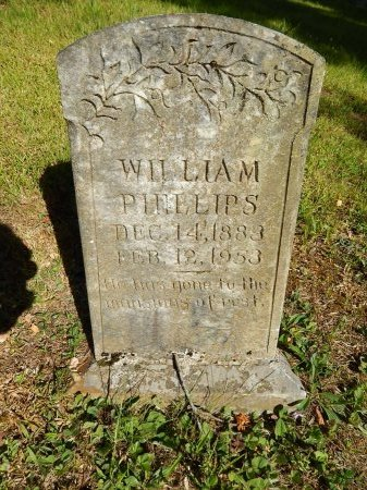 PHILLIPS, WILLIAM - Campbell County, Tennessee | WILLIAM PHILLIPS - Tennessee Gravestone Photos