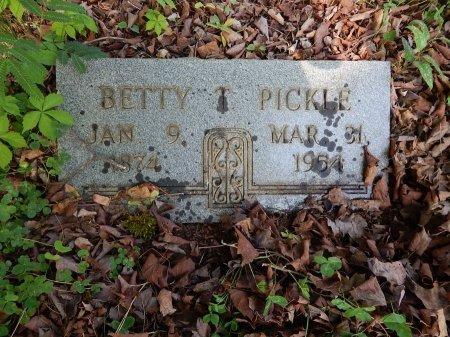 TALIAFERRO PICKLE, BETTY - Campbell County, Tennessee | BETTY TALIAFERRO PICKLE - Tennessee Gravestone Photos