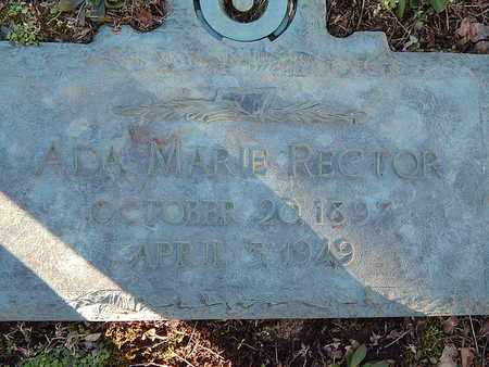 RECTOR, ADA MARIE - Campbell County, Tennessee | ADA MARIE RECTOR - Tennessee Gravestone Photos