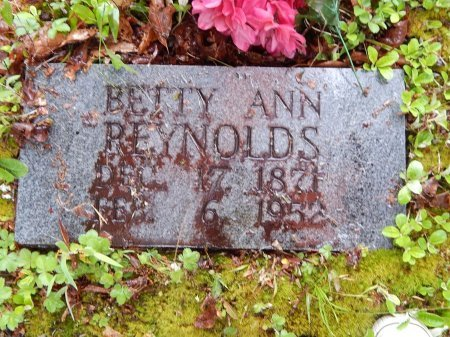 REYNOLDS, BETTY ANN - Campbell County, Tennessee | BETTY ANN REYNOLDS - Tennessee Gravestone Photos