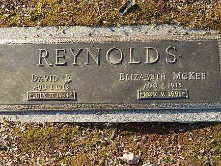 REYNOLDS, ELIZABETH - Campbell County, Tennessee | ELIZABETH REYNOLDS - Tennessee Gravestone Photos
