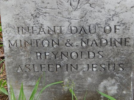 REYNOLDS, INFANT - Campbell County, Tennessee | INFANT REYNOLDS - Tennessee Gravestone Photos