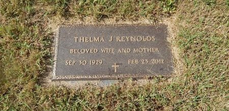REYNOLDS, THELMA J - Campbell County, Tennessee | THELMA J REYNOLDS - Tennessee Gravestone Photos