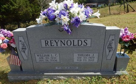 REYNOLDS, WILLIAM L C - Campbell County, Tennessee | WILLIAM L C REYNOLDS - Tennessee Gravestone Photos