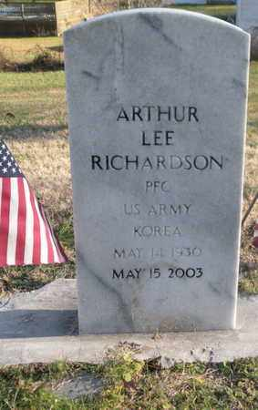 RICHARDSON  (VETERAN KOR), ARTHUR LEE - Campbell County, Tennessee | ARTHUR LEE RICHARDSON  (VETERAN KOR) - Tennessee Gravestone Photos