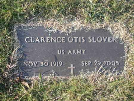 SLOVER  (VETERAN), CLARENCE OTIS - Campbell County, Tennessee | CLARENCE OTIS SLOVER  (VETERAN) - Tennessee Gravestone Photos