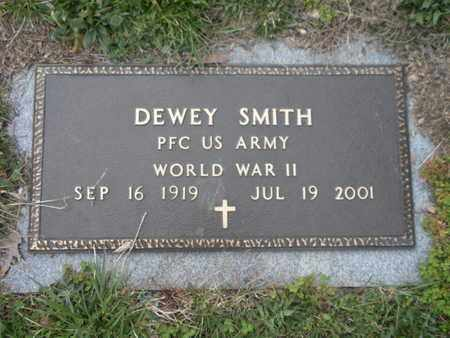 SMITH  (VETERAN WWII), DEWEY - Campbell County, Tennessee | DEWEY SMITH  (VETERAN WWII) - Tennessee Gravestone Photos