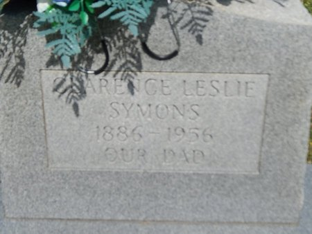 SYMONS, CLARENCE LESLIE - Campbell County, Tennessee   CLARENCE LESLIE SYMONS - Tennessee Gravestone Photos