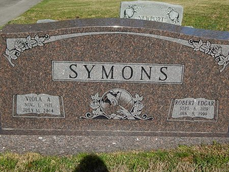 SYMONS, VIOLA A - Campbell County, Tennessee | VIOLA A SYMONS - Tennessee Gravestone Photos