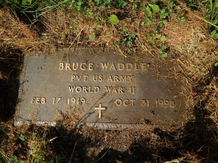 WADDLE (VETERAN WWII), BRUCE   - Campbell County, Tennessee | BRUCE   WADDLE (VETERAN WWII) - Tennessee Gravestone Photos