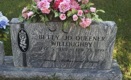 QUEENER WILLOUGHBY, BETTY JO - Campbell County, Tennessee | BETTY JO QUEENER WILLOUGHBY - Tennessee Gravestone Photos