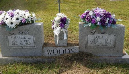 WOODS, LOLA B - Campbell County, Tennessee | LOLA B WOODS - Tennessee Gravestone Photos