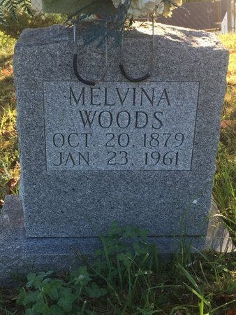 WOODS, MELVINA - Campbell County, Tennessee | MELVINA WOODS - Tennessee Gravestone Photos