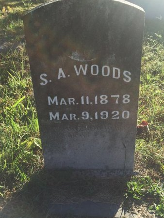 WOODS, STEPHEN A - Campbell County, Tennessee | STEPHEN A WOODS - Tennessee Gravestone Photos