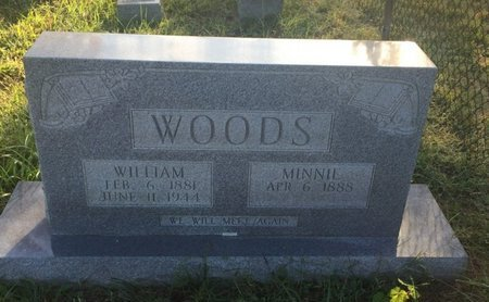 WOODS, MINNIE - Campbell County, Tennessee | MINNIE WOODS - Tennessee Gravestone Photos