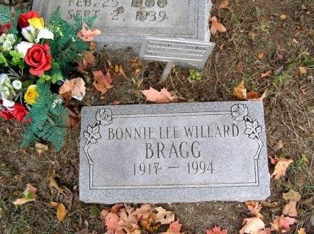 WILLARD BRAGG, BONNIE LEE - Cannon County, Tennessee | BONNIE LEE WILLARD BRAGG - Tennessee Gravestone Photos