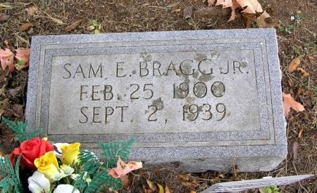 BRAGG JR, SAM E. - Cannon County, Tennessee | SAM E. BRAGG JR - Tennessee Gravestone Photos