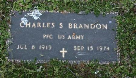 BRANDON (VETERAN), CHARLES S - Cannon County, Tennessee   CHARLES S BRANDON (VETERAN) - Tennessee Gravestone Photos