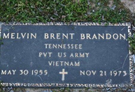 BRANDON (VETERAN VIET), MELVIN BRENT - Cannon County, Tennessee | MELVIN BRENT BRANDON (VETERAN VIET) - Tennessee Gravestone Photos