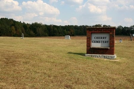*CHERRY CEMETERY SIGN,  - Cannon County, Tennessee |  *CHERRY CEMETERY SIGN - Tennessee Gravestone Photos