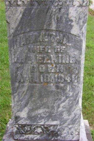 PARIS ELKINS, HARRIET JANE - Cannon County, Tennessee | HARRIET JANE PARIS ELKINS - Tennessee Gravestone Photos