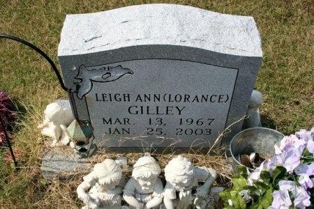 LORANCE GILLEY, LEIGH ANN - Cannon County, Tennessee   LEIGH ANN LORANCE GILLEY - Tennessee Gravestone Photos