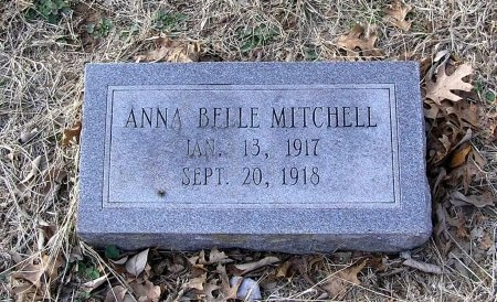 MITCHELL, ANNA BELLE - Cannon County, Tennessee   ANNA BELLE MITCHELL - Tennessee Gravestone Photos