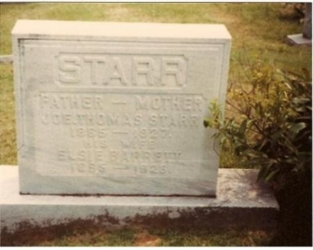 STARR, ELSIE EMALINE - Cannon County, Tennessee | ELSIE EMALINE STARR - Tennessee Gravestone Photos