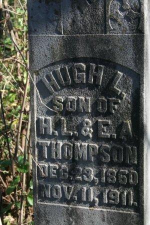 THOMPSON, HUGH L. - Cannon County, Tennessee | HUGH L. THOMPSON - Tennessee Gravestone Photos