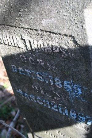 THOMPSON, JOHN  - Cannon County, Tennessee | JOHN  THOMPSON - Tennessee Gravestone Photos