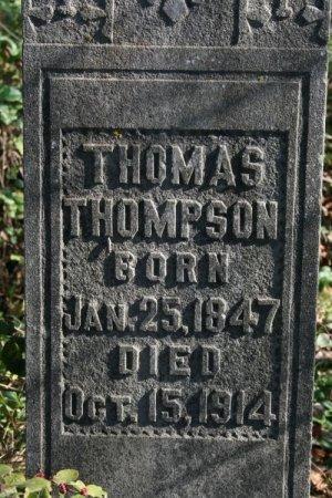 THOMPSON, THOMAS - Cannon County, Tennessee | THOMAS THOMPSON - Tennessee Gravestone Photos