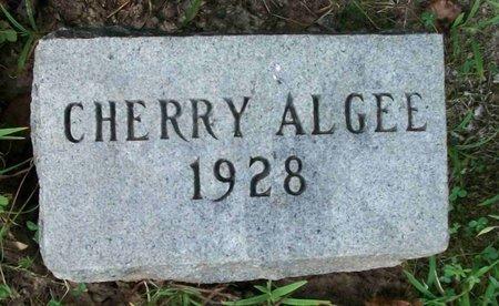 ALGEE, CHERRY - Carroll County, Tennessee | CHERRY ALGEE - Tennessee Gravestone Photos
