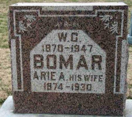 LEACH BOMAR, ARIE A. - Carroll County, Tennessee | ARIE A. LEACH BOMAR - Tennessee Gravestone Photos