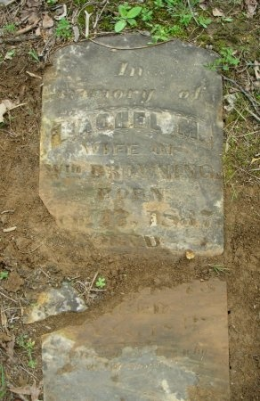 BROWNING, RACHEL M. - Carroll County, Tennessee | RACHEL M. BROWNING - Tennessee Gravestone Photos