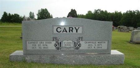 CARY, EARNEST ORA DODD - Carroll County, Tennessee | EARNEST ORA DODD CARY - Tennessee Gravestone Photos