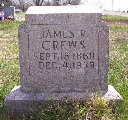 CREWS, JAMES ROBERT - Carroll County, Tennessee | JAMES ROBERT CREWS - Tennessee Gravestone Photos