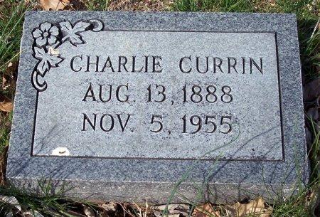 CURRIN, CHARLIE RICHARD - Carroll County, Tennessee   CHARLIE RICHARD CURRIN - Tennessee Gravestone Photos