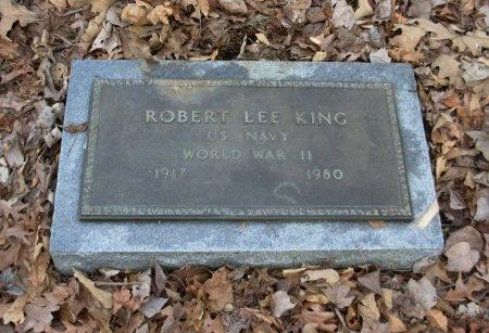 KING (VETERAN WWII), ROBERT LEE - Carroll County, Tennessee | ROBERT LEE KING (VETERAN WWII) - Tennessee Gravestone Photos