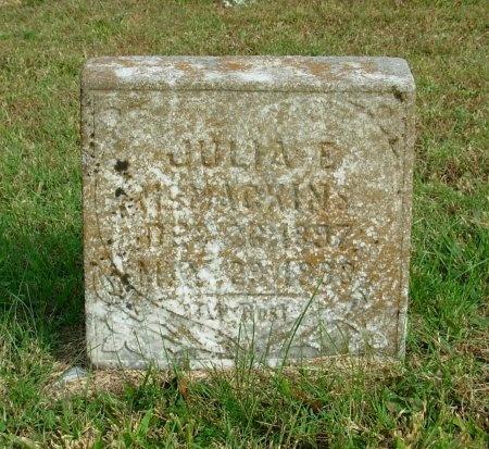 MCMACKINS, JULIA E. - Carroll County, Tennessee | JULIA E. MCMACKINS - Tennessee Gravestone Photos